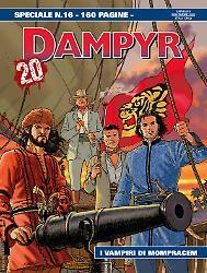 I vampiri di Mompracem - Speciale Dampyr 16 cover