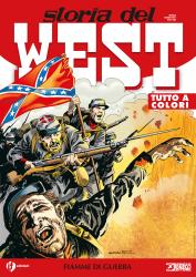 Fiamme di guerra - Storia del West 22 cover