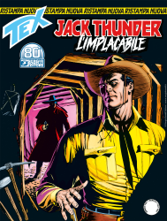 Jack Thunder L'implacabile - Tex Nuova Ristampa 465 cover