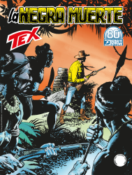 La negra muerte - Tex 723 cover