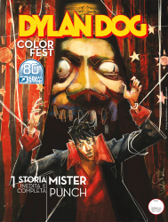 Mister Punch - Dylan Dog Color Fest 36 cover