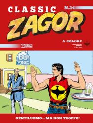 Gentiluomo... ma non troppo! - Zagor Classic 24 cover