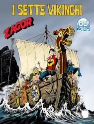 I sette vikinghi - Zagor 668 cover