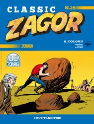 I due traditori - Zagor Classic 25 cover