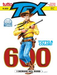 I demoni del nord - Tutto Tex 600 cover