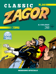 Missione speciale - Zagor Classic 26 cover