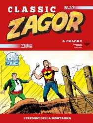 I predoni della montagna - Zagor Classic 27 cover