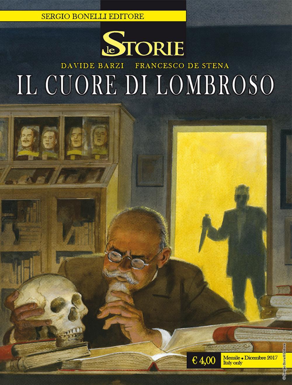 Il cuore di Lombroso - Le Storie 63 cover