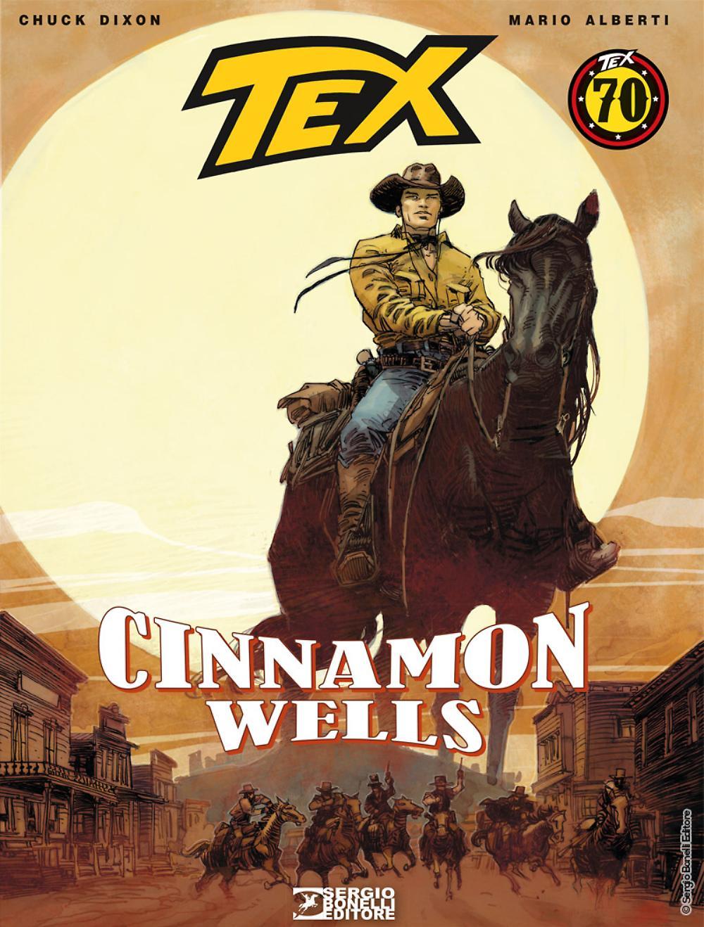 Cinnamon Wells - Tex Romanzi a fumetti 08 cover