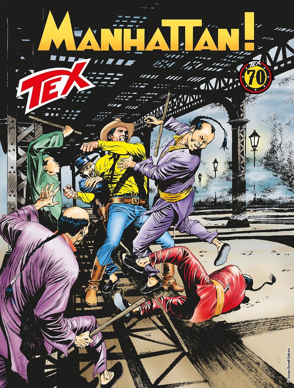 Manhattan - Tex 697 cover
