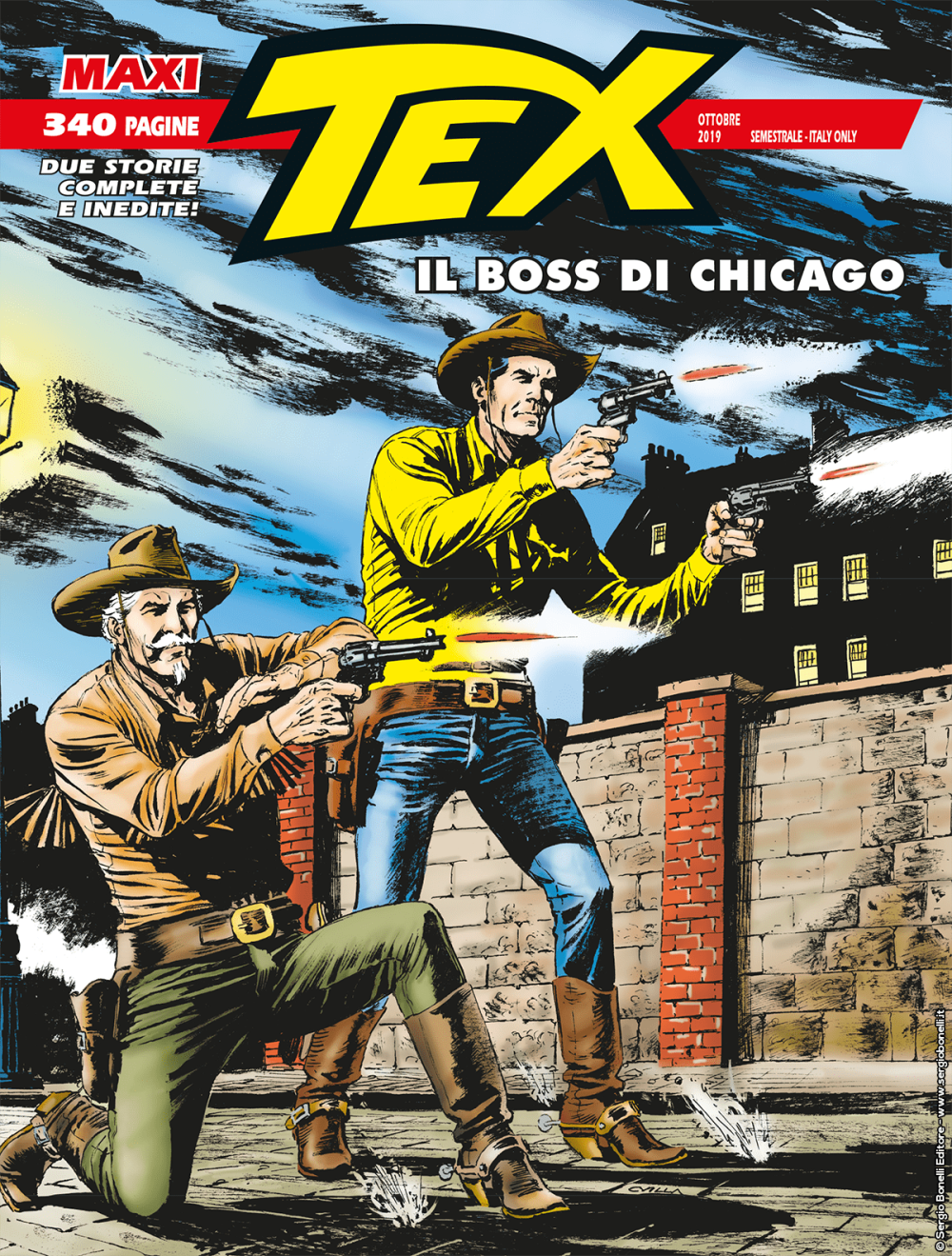 Il Boss di Chicago - Maxi Tex 25 cover