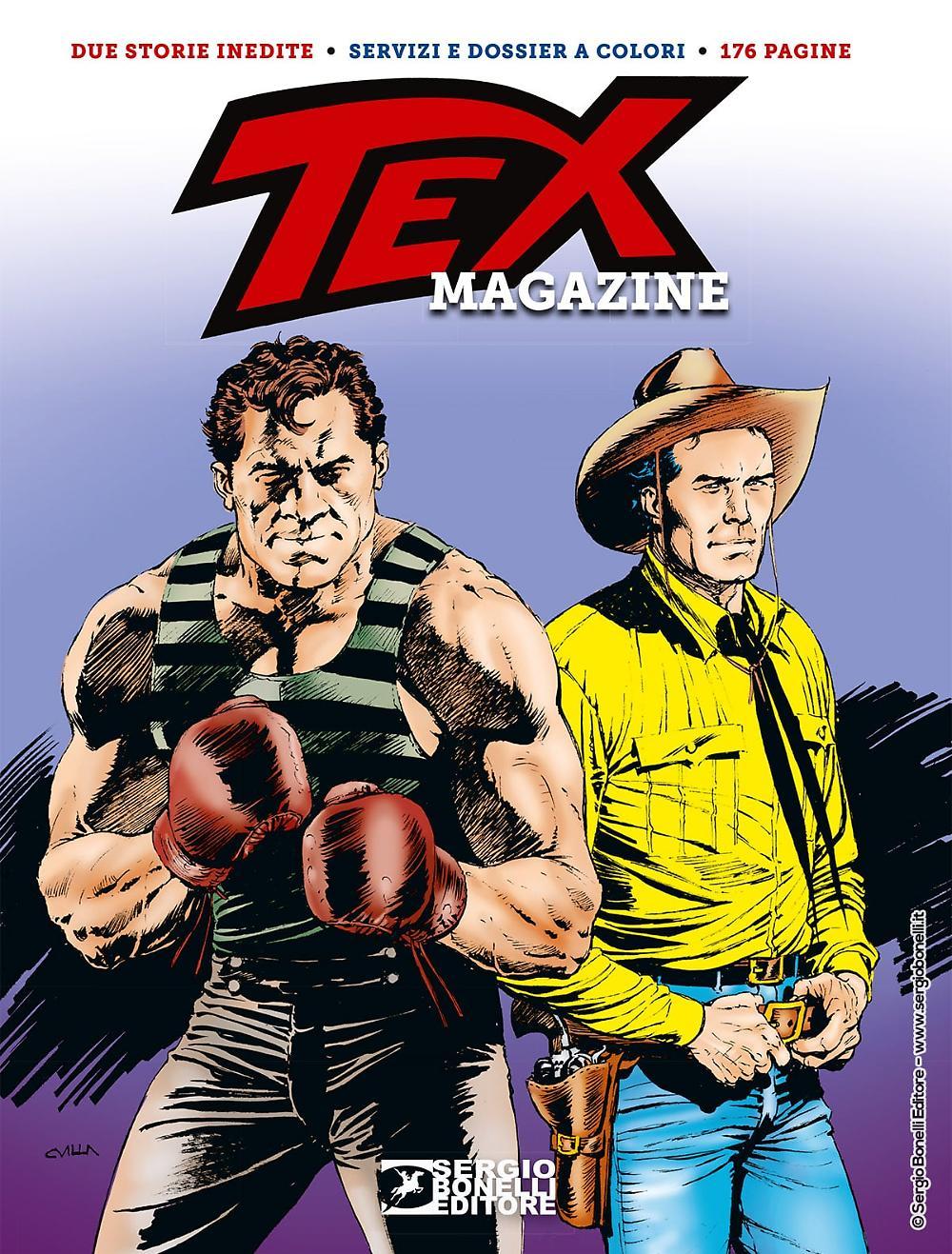 Tex Magazine 2020 cover