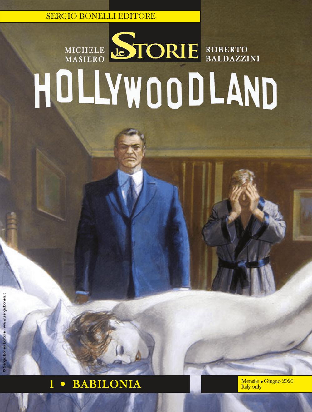 Hollywoodland 1 - Babilonia - Le Storie 93 cover