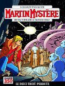 Le dieci tribù perdute- Martin Mystère 350 cover
