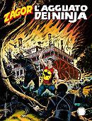 L'agguato dei ninja - Zagor 624 cover