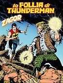 La follia di Thunderman - Zagor 636 cover