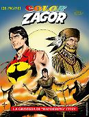 """La giustizia di """"Wandering"""" Fitzy - Color Zagor 07 cover"""