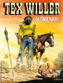 La prigioniera - Tex Willer 08 cover