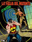 La figlia del mutante - Zagor 656 cover