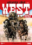 La diligenza - Storia del West 18 cover