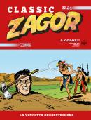 La vendetta dello stregone - Zagor Classic 21 cover