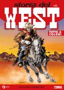 La lunga cavalcata - Storia del West 21 cover