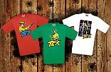 Tre nuove t-shirt per Tex!