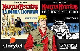 I romanzi di Martin Mystère su Storytel!