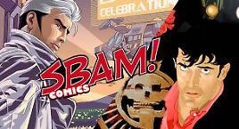 Nathan e Dylan su SBAM! Comics!