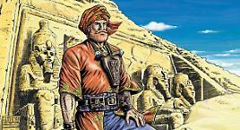 Walter Venturi in Egitto per il Grande Belzoni