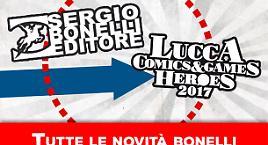 SBE a Lucca Comics 2017