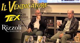 """Tex """"Il Vendicatore"""" presentato a Milano"""
