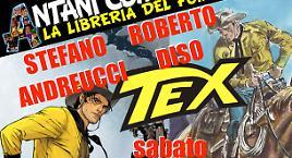 Andreucci e Diso presentano Tex a Terni!