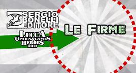 Le firme degli autori a Lucca!