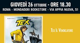 Tex il Vendicatore a Roma