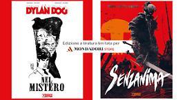 Le variant Mondadori di Dylan Dog e Dragonero