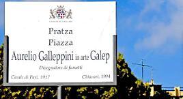 Una piazza intitolata a Galep!