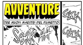 Avventure - Tre nuovi maestri del fumetto