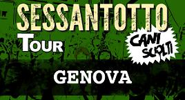 Cani sciolti Tour: Genova!