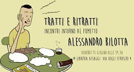 Alessandro Bilotta a Tratti & Ritratti