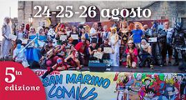 Giardo a San Marino Comics