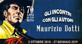 Maurizio Dotti alla mostra di Tex!