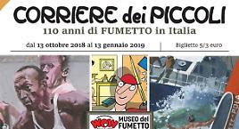 Il Corriere dei Piccoli in mostra a Milano