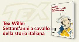 Il catalogo della mostra di Tex a Trento