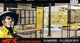 Prosegue la mostra di Tex a Roma