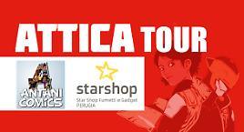 Attica Tour a Terni e Prugia!