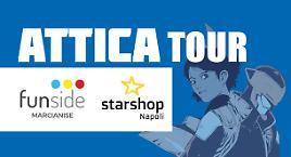 Attica Tour a Marcianise e Napoli!