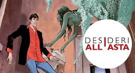 Dylan Dog all'asta per benificenza
