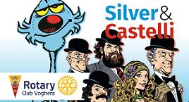 Castelli e Silver in mostra a Voghera!