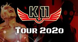 K-11 in tour!